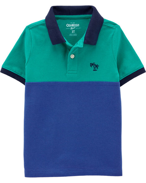 Shark Colourblock Polo