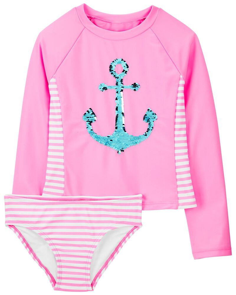 Anchor Stripe Rashguard Set, , hi-res
