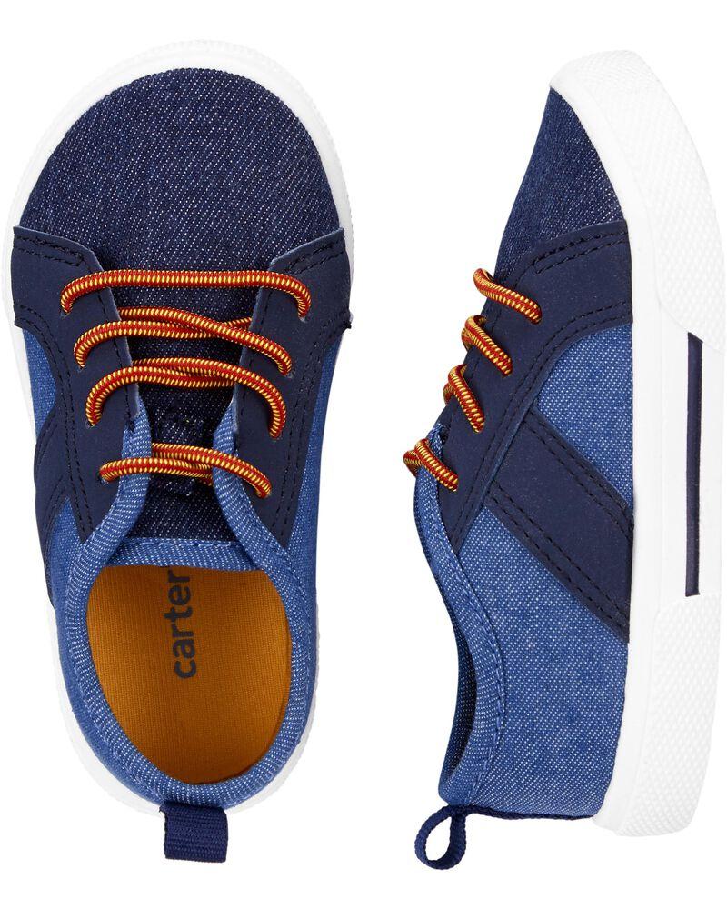 Carter's Denim Sneakers, , hi-res