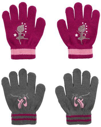 KOMBI 2-Pack Ballet Mini Glove Set