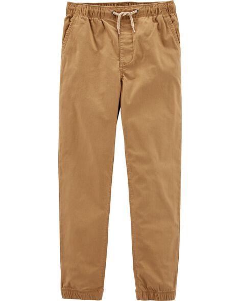 Pantalon de jogging en toile