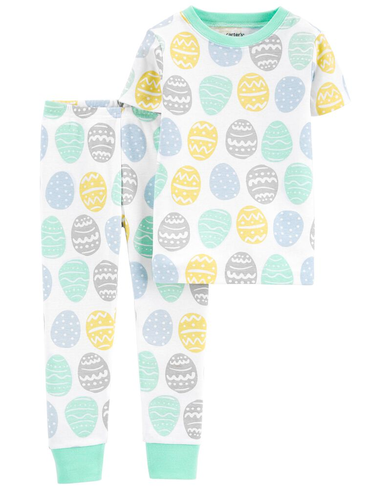 2-Piece Easter 100% Snug Fit Cotton PJs, , hi-res