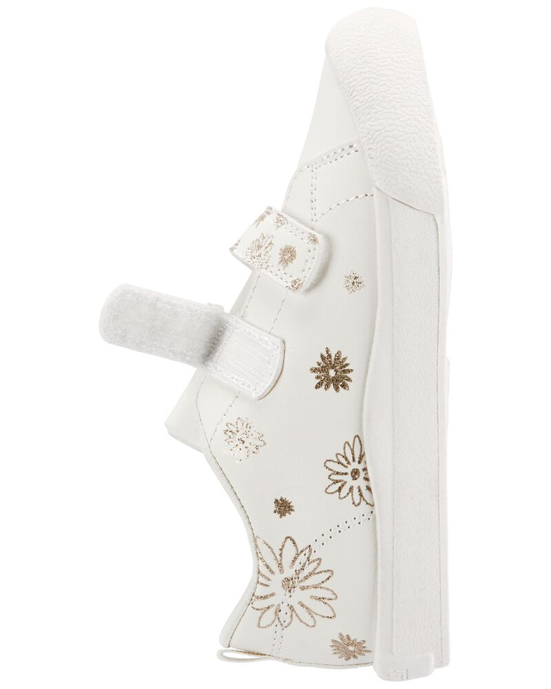 Sparkle Flower Sneakers, , hi-res