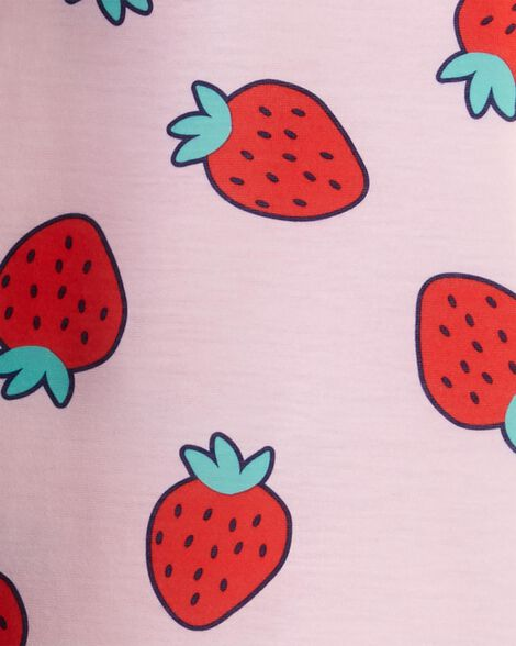2-Pack Strawberry Nightgowns