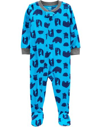 1-Piece Woodland Creatures Fleece F...