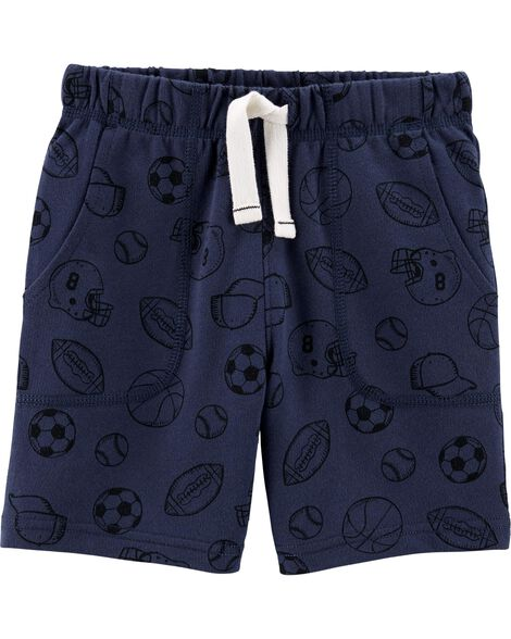 Sports Pull-On French Terry Shorts