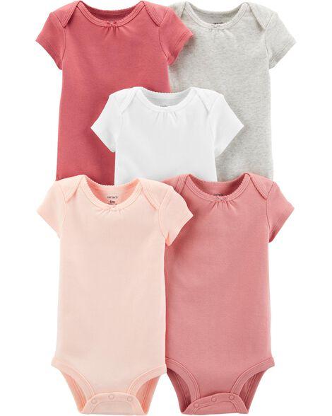 5-Pack Short-Sleeve Original Bodysuits