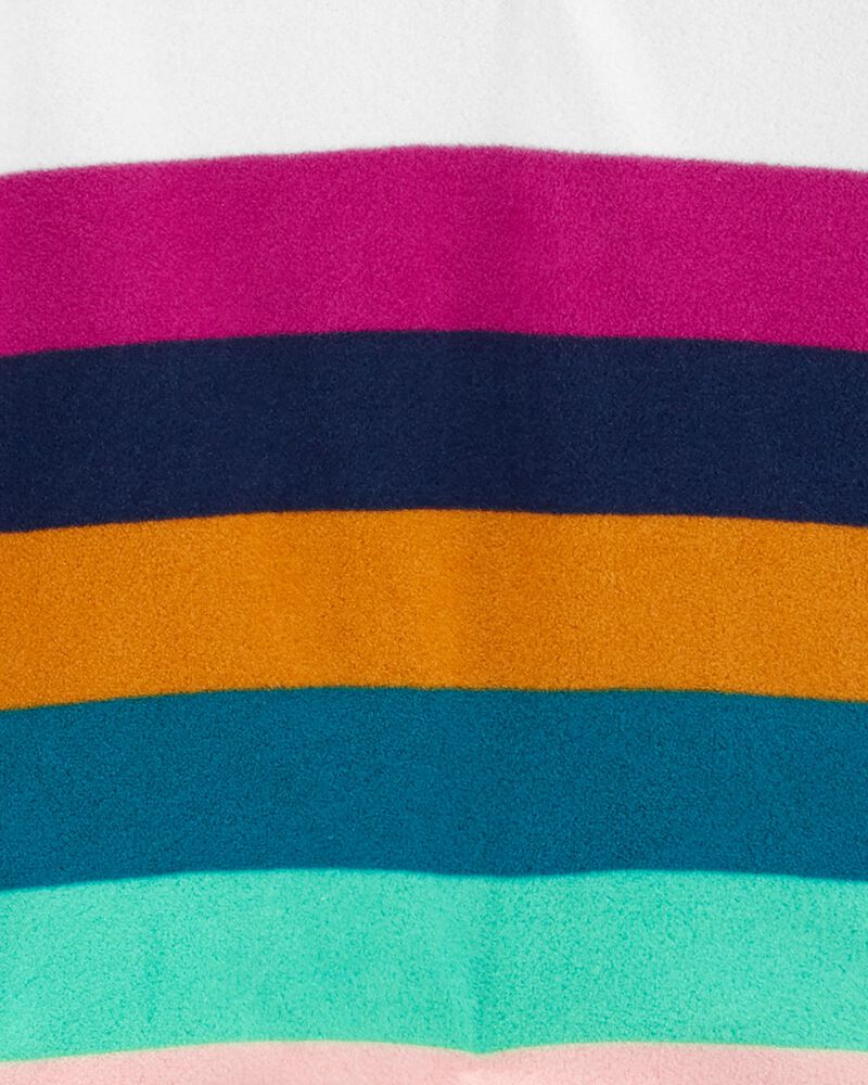 2-Piece Striped Fleece Hoodie & Legging Set, , hi-res