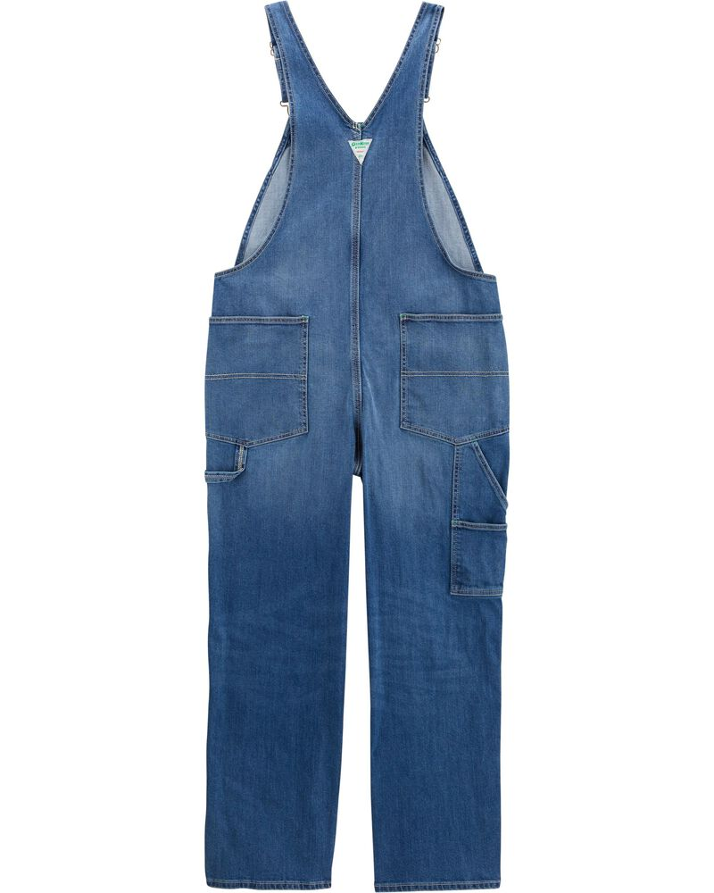 Family Matching Denim Overalls For Adults Loose Fit, , hi-res