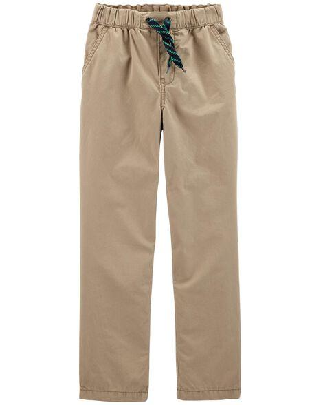 Pull-On Poplin Play Pants