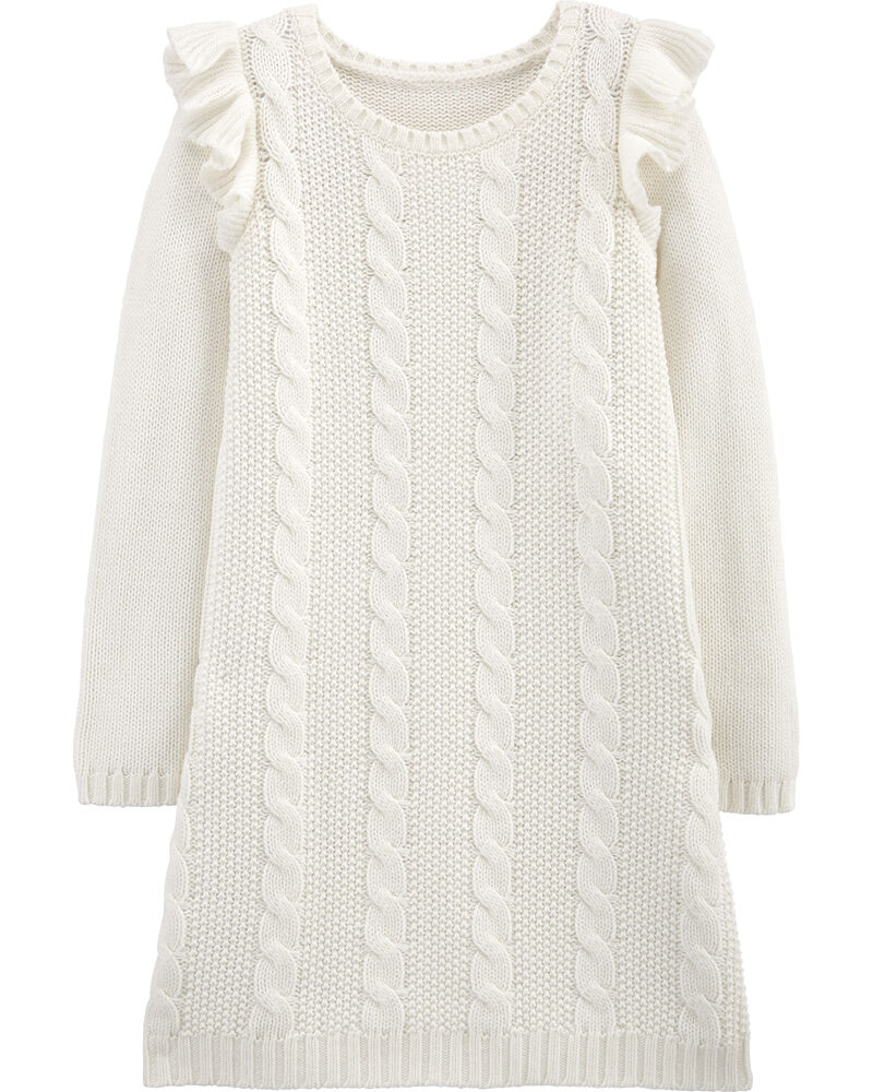 Cable Knit Dress, , hi-res