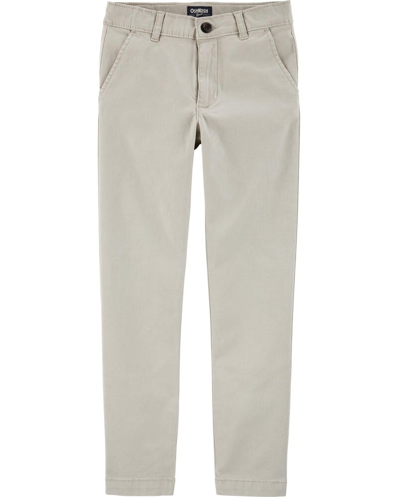 Stretch Uniform Chinos, , hi-res