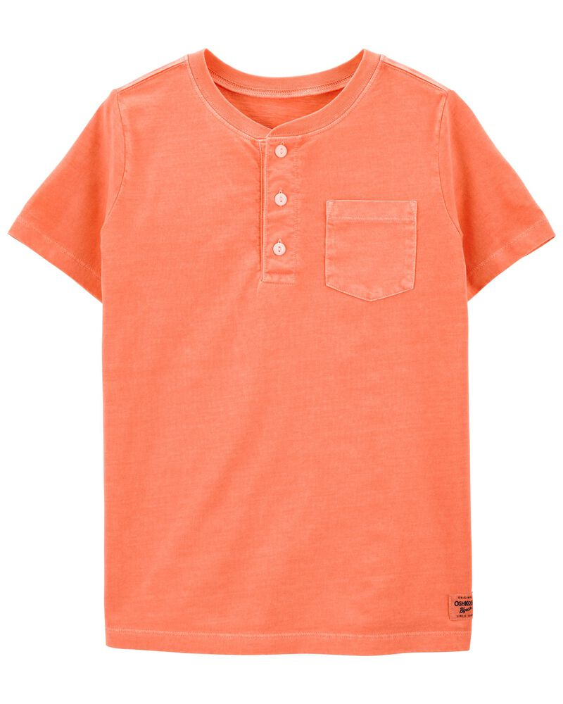 Sun-Washed Pocket Henley, , hi-res