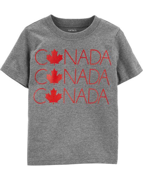 T-shirt en jersey Canada Canada Canada