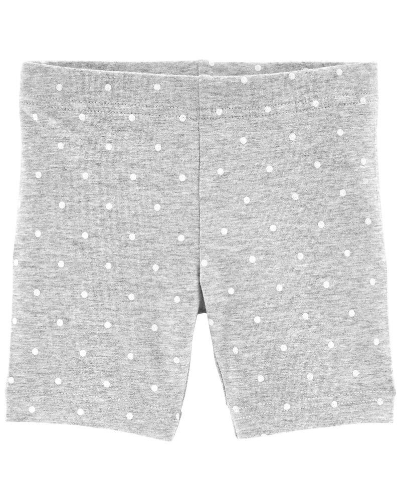 Polka Dot Bike Shorts, , hi-res