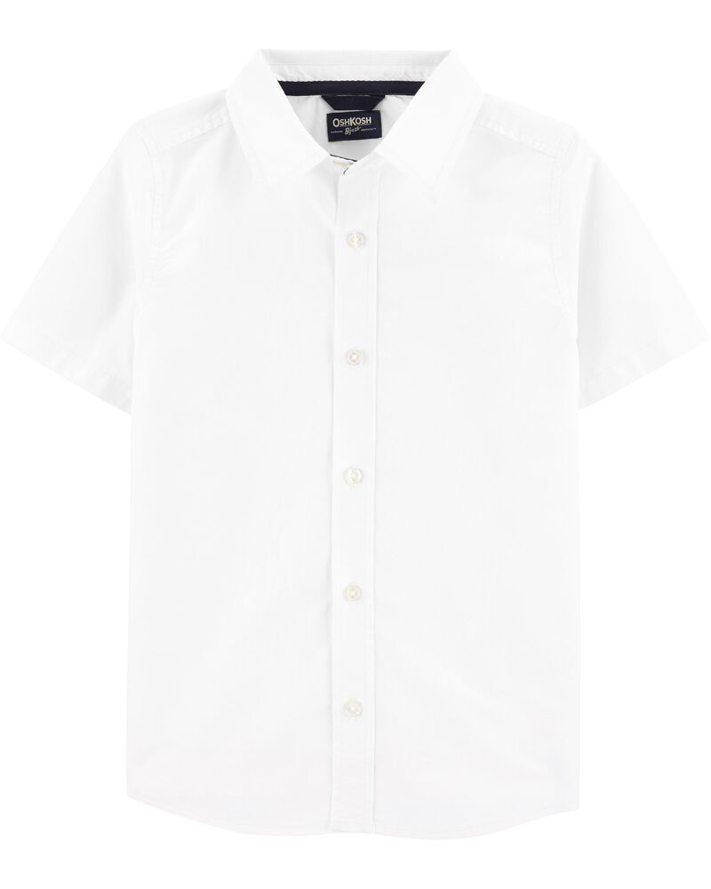 Uniform Button-Front Shirt, , hi-res