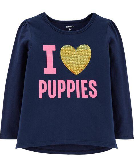 Haut I Love Puppies