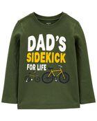 T-shirt en jersey Dad's Sidekick , , hi-res