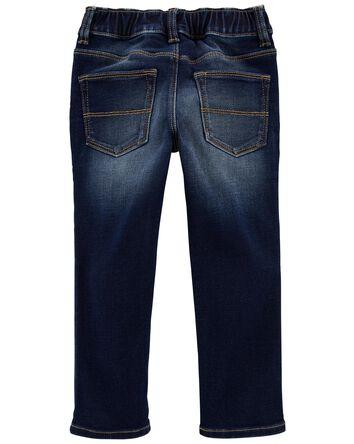 Pantalon en denim extensible facile...