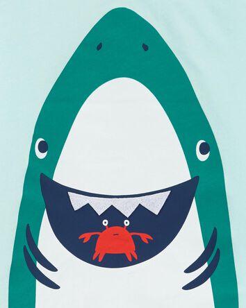 Ensemble 2 pièces t-shirt à requin...