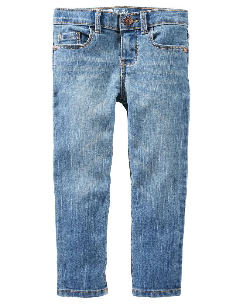 Jeans doux fuseau - délavage bleu Upstate, , hi-res