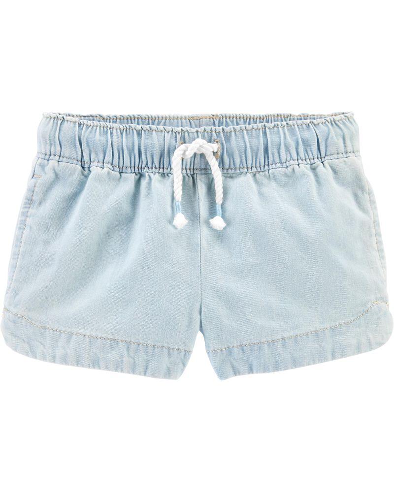 Chambray Sun Shorts, , hi-res