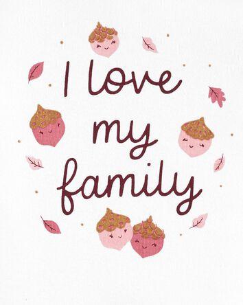 2-Piece I Love My Family Bodysuit P...
