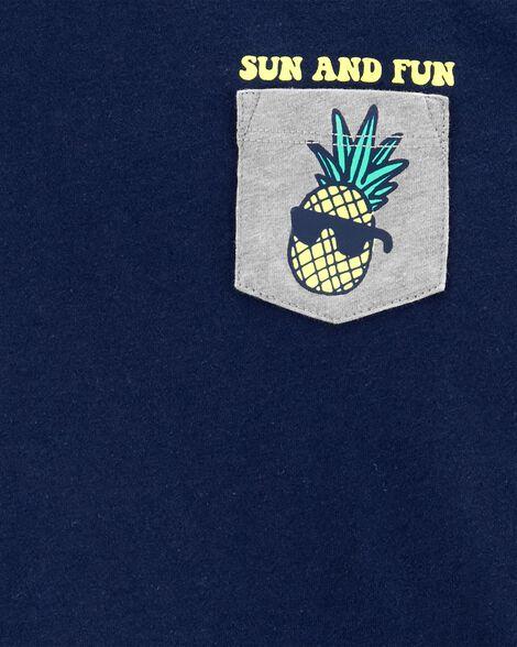 Pineapple Pocket Tee