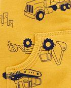 3-Piece Construction Little Jacket Set, , hi-res