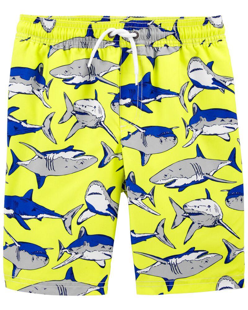 Shark Swim Trunks, , hi-res