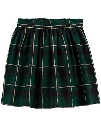 Holiday Plaid Skirt