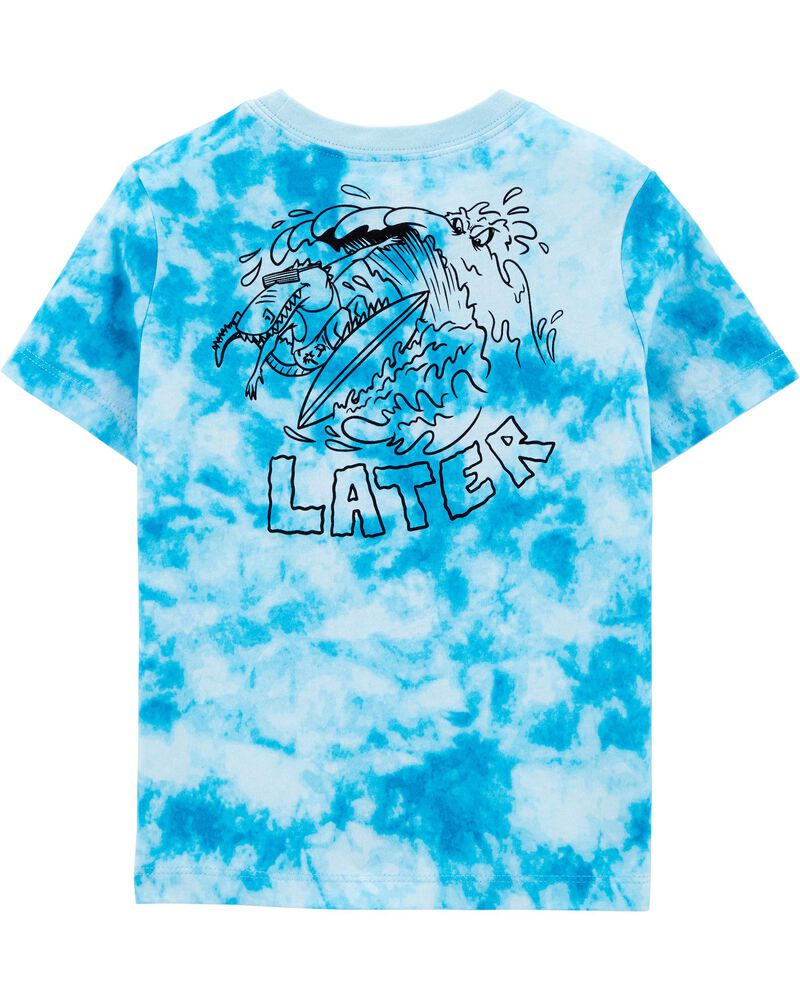 Alligator Tie-Dye Tee, , hi-res