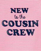 New To The Cousin Crew Bodysuit, , hi-res