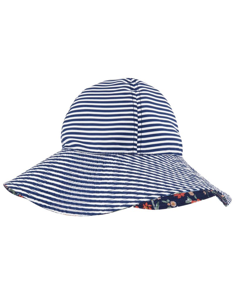 Reversible Floral Bucket Hat, , hi-res