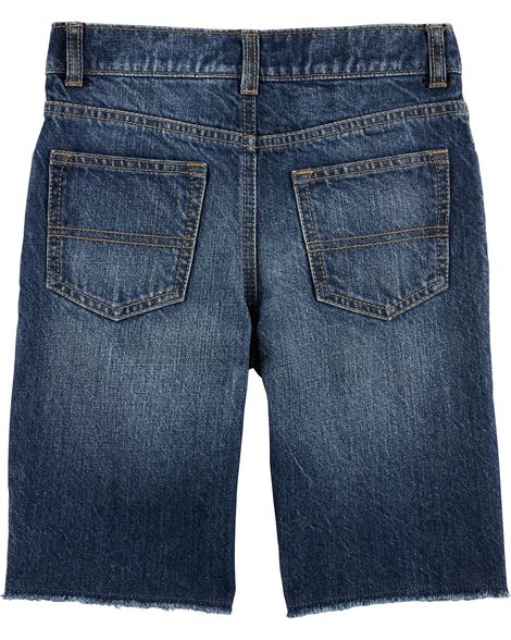 Raw Hem Shorts - Medium Vintage Wash
