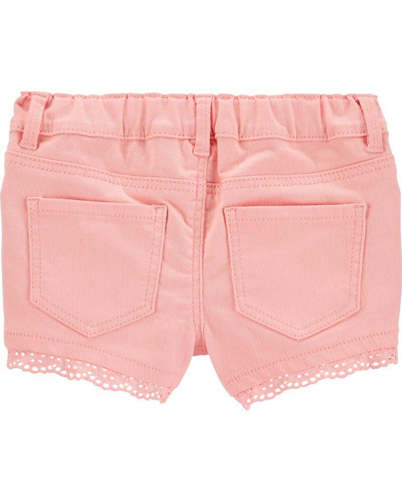 Stretch Twill Shorts, , hi-res