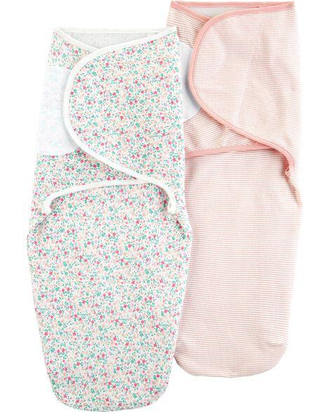 Emballage de 2 couvertures à emmailloter