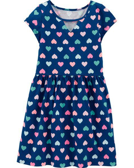 Heart Jersey Dress