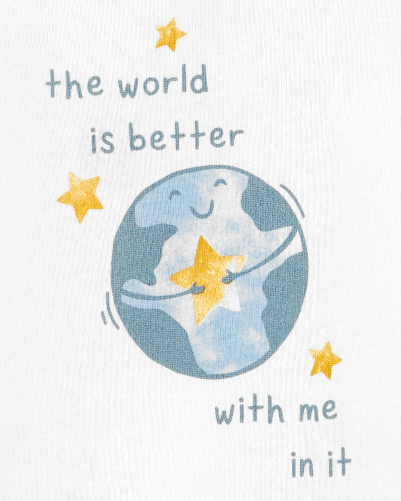 The World Is Better With Me In It Bodysuit, , hi-res