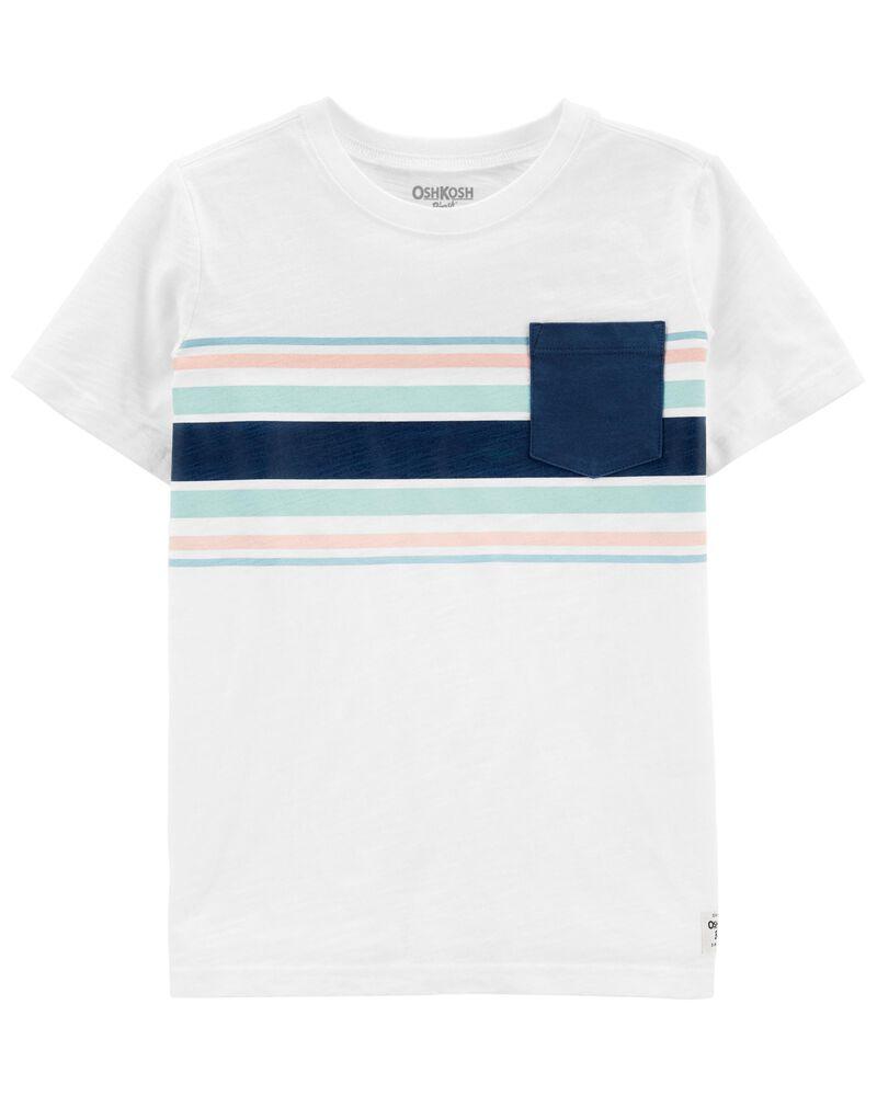T-shirt à poche, , hi-res