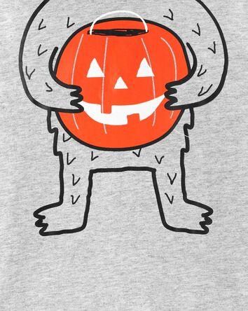2-Piece Halloween Hooded Shirt & Pa...