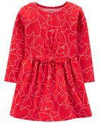 Heart Jersey Dress, , hi-res