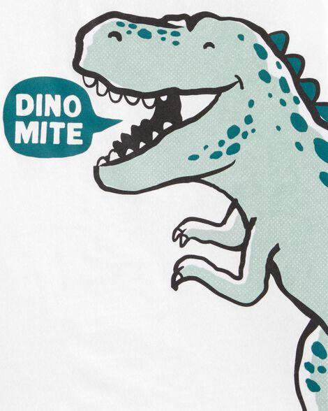 T-shirt en jersey T-Rex Dino Mite
