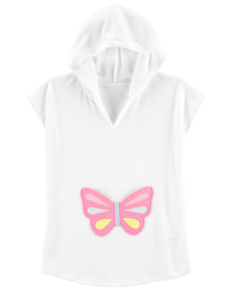 Hooded Butterfly Cover-Up, , hi-res