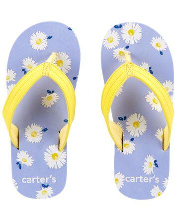 Daisy Flip Flops