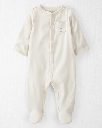 Organic Cotton Snap-Up Sleep & Play
