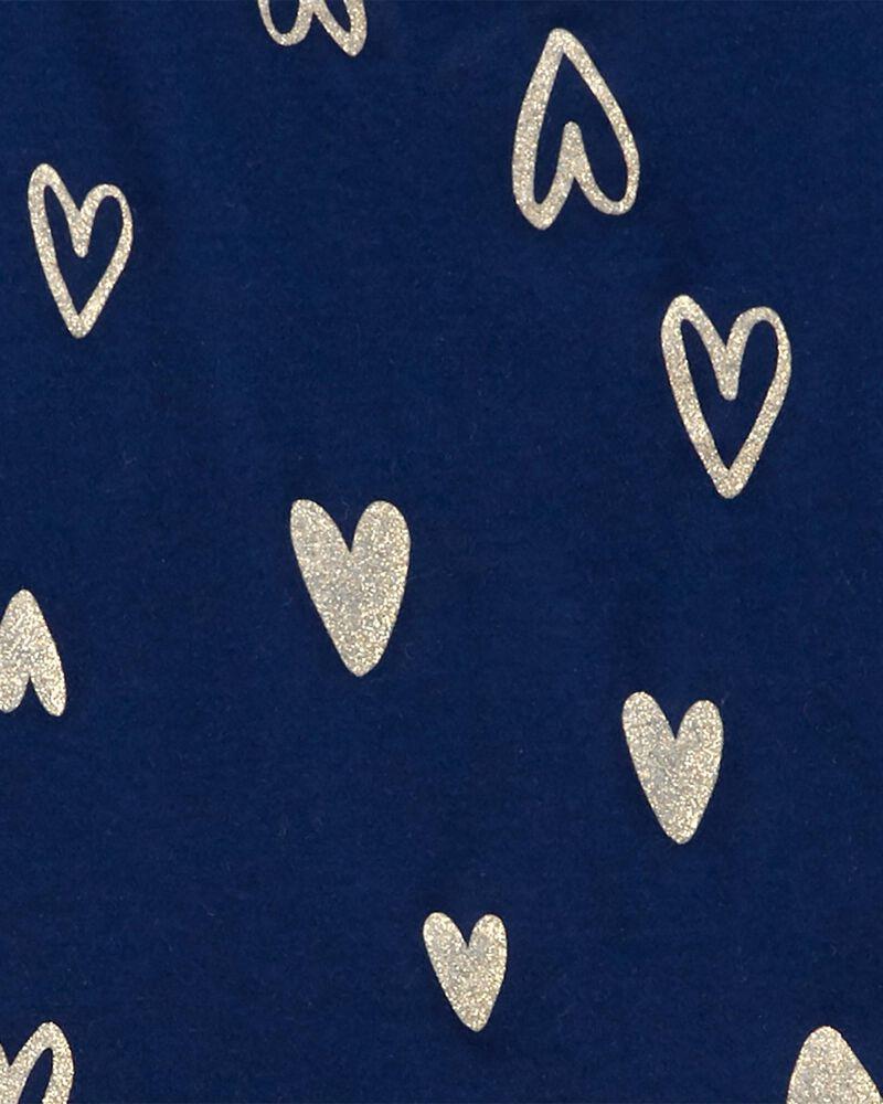 Robe en jersey à cœur, , hi-res