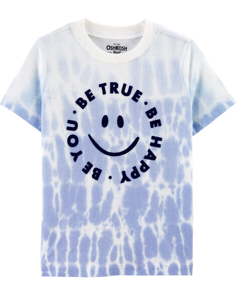 T-shirt teint par noeuds Be You