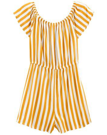 Tween Striped Jumpsuit