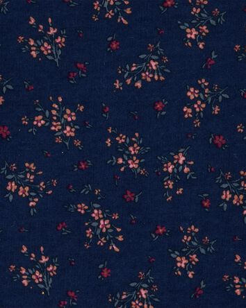 Floral Peplum Top
